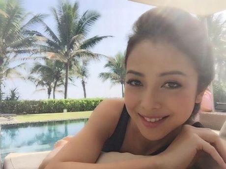 Choang voi mat moc cua Jennifer Pham khi mang bau lan 3 - Anh 5
