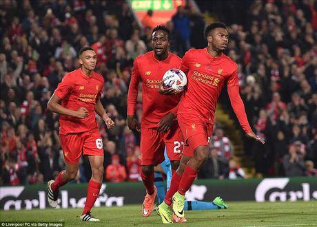 Liverpool 2-1 Tottenham: Daniel Sturridge sam vai nguoi hung - Anh 1