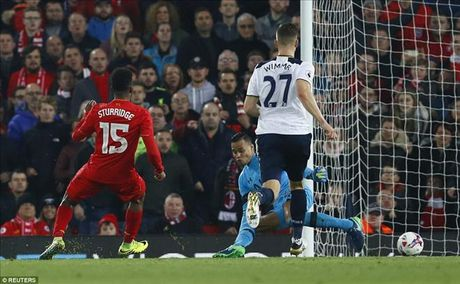 Liverpool 2-1 Tottenham: Daniel Sturridge sam vai nguoi hung - Anh 3