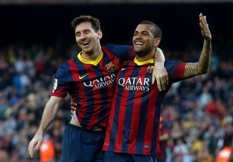 37 cu hat-trick cua Leo Messi cho Barca qua anh (Phan cuoi) - Anh 1