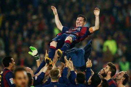 37 cu hat-trick cua Leo Messi cho Barca qua anh (Phan cuoi) - Anh 3