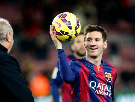 37 cu hat-trick cua Leo Messi cho Barca qua anh (Phan cuoi) - Anh 5