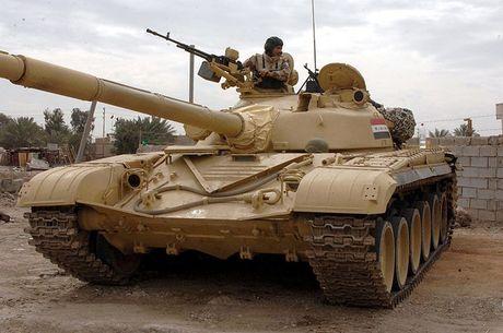 Xe tang T-72M1 xung tran danh phien quan IS o Mosul - Anh 6