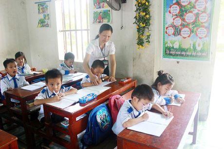 Tap huan danh gia HS tieu hoc theo Thong tu 22 - Anh 1