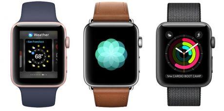 Apple Watch giam sut hon 71% doanh so ban hang - Anh 1