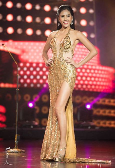 Nguyen Thi Loan lot top 20 cua Miss Grand International 2016 - Anh 1