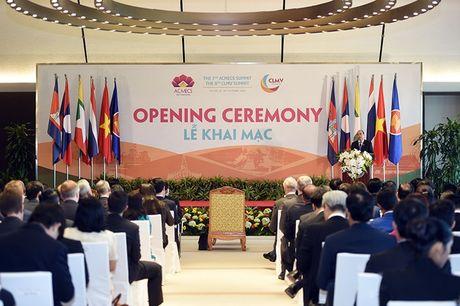 Khai mac Hoi nghi Cap cao ACMECS 7 va CLMV8 - Anh 3