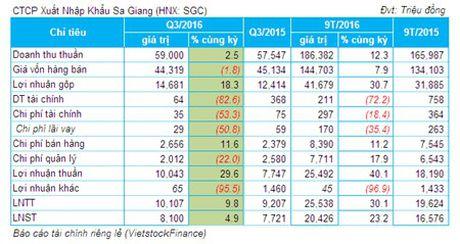 SGC: Lai rong 9 thang hon 20 ty dong, tang 23% so voi cung ky - Anh 1