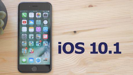 Apple phat hanh iOS 10.1 cai tien chuc nang chup anh iPhone 7 Plus - Anh 1