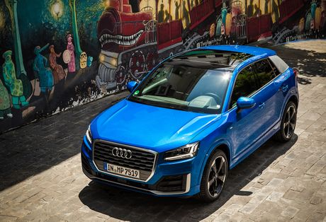 Audi chinh thuc ra mat SUV hang sang Q2 tai Viet Nam - Anh 1