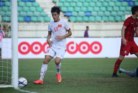 U19 Viet Nam: Dau Nhat Ban, 'quan bai' nao dong the Duc Chinh? - Anh 4
