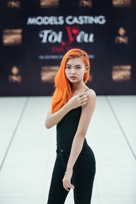Vietnam International Fashion Week Thu Dong 2016 tuyen nguoi mau - Anh 4