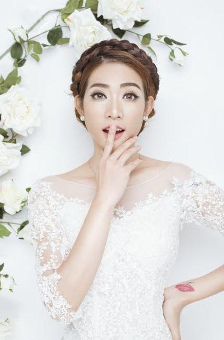 Kim Nha bat ngo 'thoat xac' hoa co dau goi cam - Anh 5