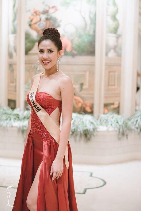 Hanh trinh lot top 20 Hoa hau Hoa binh Quoc te 2016 cua Nguyen Thi Loan - Anh 14