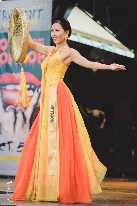 Hanh trinh lot top 20 Hoa hau Hoa binh Quoc te 2016 cua Nguyen Thi Loan - Anh 5