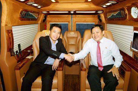 Ra mat doi xe dua don tieu chuan Limousine tai Resort Hon Tam - Anh 4