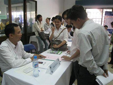 TP.HCM: Hon 6.200 co hoi viec lam cho nguoi lao dong - Anh 1