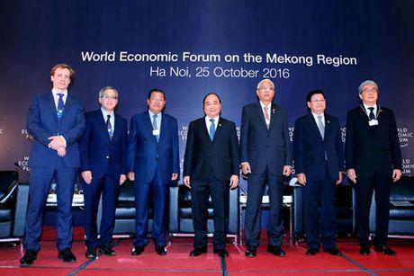 WEF-MEKONG 2016: Thuc day ket noi, phat trien ben vung trong khu vuc - Anh 1
