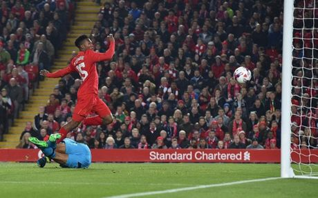 Danh bai Tottenham, Liverpool vao tu ket cup Lien doan Anh - Anh 2