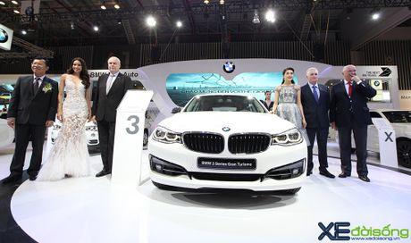 BMW 3GT lo dien ben canh 10 mau BMW khac tai VIMS 2016 - Anh 1