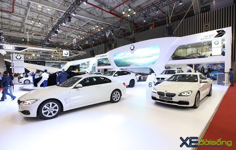 BMW 3GT lo dien ben canh 10 mau BMW khac tai VIMS 2016 - Anh 2
