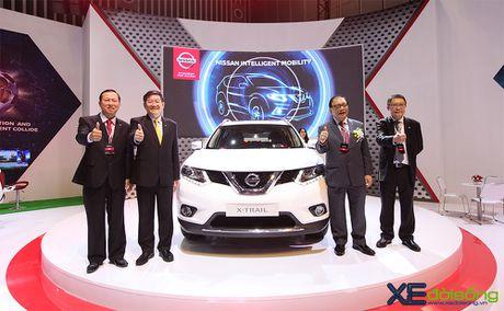Nissan X-Trail ra mat khach hang phia Nam tai VIMS cung voi Teana va Sunny - Anh 1