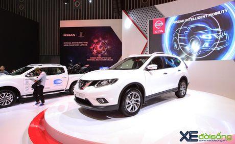 Nissan X-Trail ra mat khach hang phia Nam tai VIMS cung voi Teana va Sunny - Anh 2