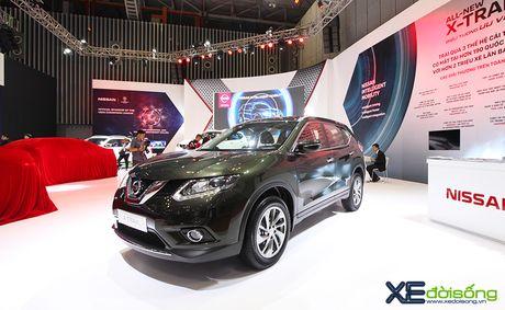 Nissan X-Trail ra mat khach hang phia Nam tai VIMS cung voi Teana va Sunny - Anh 3