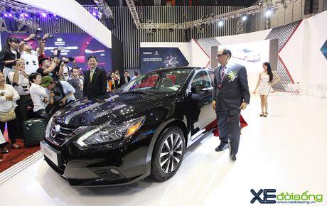 Nissan X-Trail ra mat khach hang phia Nam tai VIMS cung voi Teana va Sunny - Anh 4