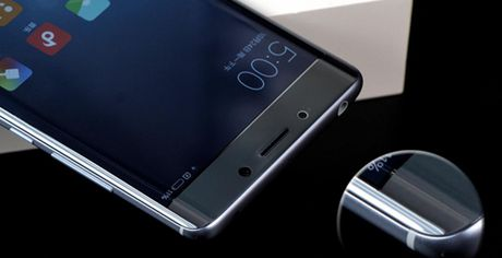 Can canh Xiaomi Mi Note 2 mau Glacier Silver cuc dep - Anh 4