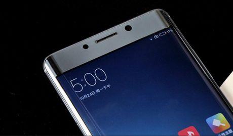 Can canh Xiaomi Mi Note 2 mau Glacier Silver cuc dep - Anh 5