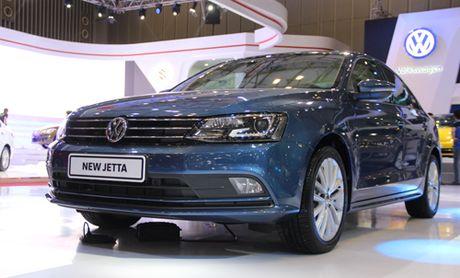 Volkswagen Jetta – doi thu moi cua Toyota Altis tai Viet Nam - Anh 1