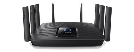 Linksys gioi thieu Wi-Fi Router 8 anten, ho tro 3 bang tan - Anh 1