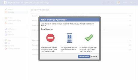Cac meo dam bao an toan khi su dung Facebook - Anh 1