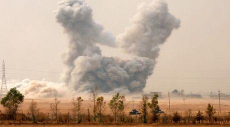 Lien quan My khong kich vao Mosul, 260 nguoi thuong vong - Anh 1
