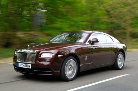 Man nhan xem Rolls-Royce Wraith bieu dien drift dieu nghe - Anh 1