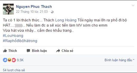 Lou Hoang lam nao loan pho di bo khi chap nhan thu thach 'doc - la' cua thay OnlyC - Anh 1