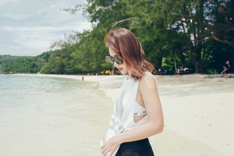 Kha Ngan than thiet voi dan dien vien 'Tuoi noi loan' trong tuan le Asian tai Malaysia - Anh 6