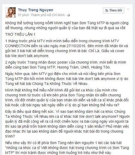 Dai dien cong ty quan li Son Tung M-TP chinh thuc len tieng vu lum xum voi Trang Phap - Anh 1
