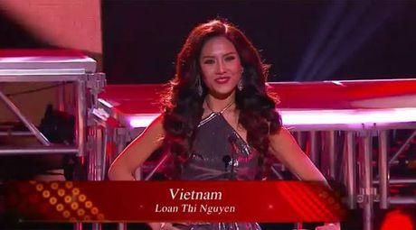 Nguyen Thi Loan xuat sac lot top 20 Hoa hau Hoa binh Quoc te 2016 - Anh 1