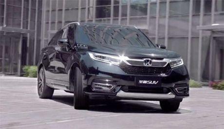 Honda UR-V - SUV moi lo dien - Anh 2