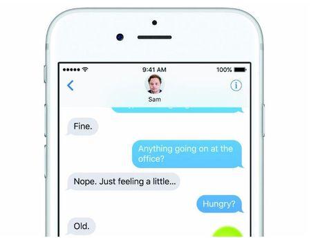 Apple dang thu nghiem mot phien ban iMessage cho Android - Anh 1