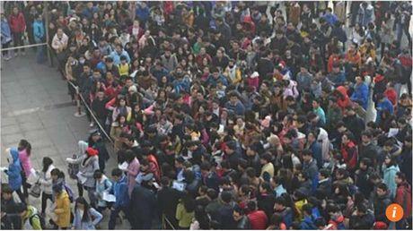 Gan 10.000 nguoi tranh nhau xin lam 'phuc vu tra nuoc' - Anh 3