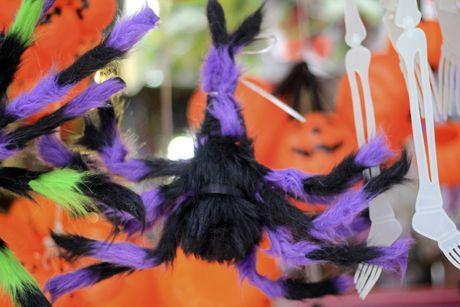 Tran ngap trang phuc Halloween tren duong pho - Anh 5