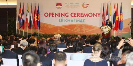 Khai mac Hoi nghi cap cao ACMECS7 va CLMV8: Vi mot khu vuc tang truong nang dong - Anh 2