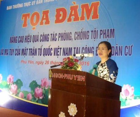 Nang cao hieu qua phong, chong toi pham cua MTTQ Viet Nam - Anh 1