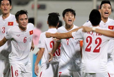 U19 Viet Nam co cua thang U19 Nhat Ban - Anh 2