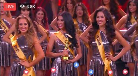 Nguyen Loan truot top 10 Hoa hau Hoa binh Quoc te - Anh 1