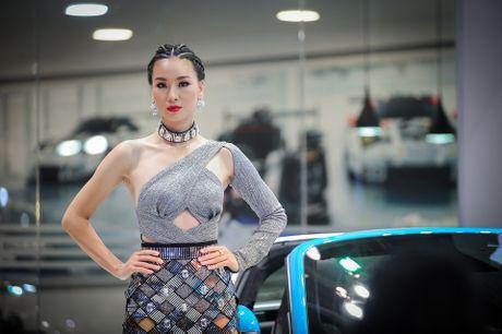 Nhung bong hong xinh dep tai trien lam xe quoc te Viet Nam - Anh 4