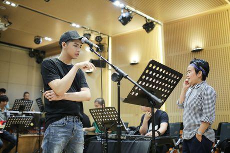 Noo Phuoc Thinh tap luyen vat va cho live show - Anh 7